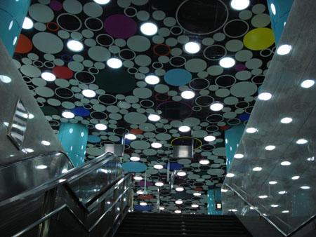 北京地铁四号线——动物园站照明设计