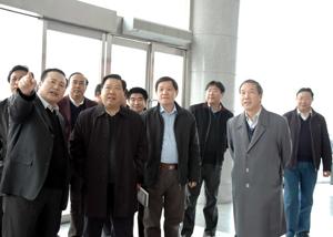石大华书记来中铁咨询集团视察-友好往来-中铁工程图片