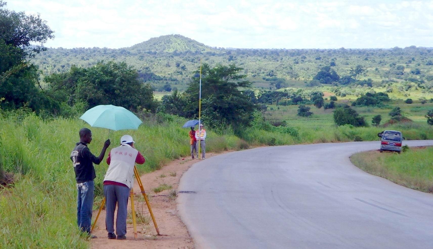 刚果(金)卢卡卡公路勘察设计